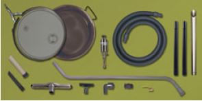 Reversible Drum Vac kit