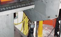 Heavy Duty Line Vac Conveys Metal Parts