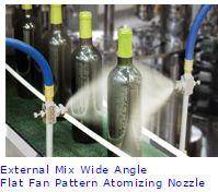 atm01 External Mix Atomizing Spray Nozzles