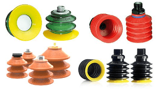 multibellows Suction cups